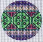 """TM-24 Geometric Round  3"""" Round 18 Mesh TANYA MERTEL Danji Designs"""