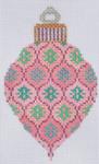 TM-20  Pink Bulb 2 3⁄4x 4 1/2 18 Mesh TANYA MERTEL Danji Designs
