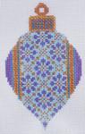 TM-19  Purple Bulb  2 3⁄4x 4 1/2  18 Mesh TANYA MERTEL Danji Designs