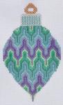 TM-18 Bargello Bulb  2 3⁄4x 4 1/2  18 Mesh TANYA MERTEL Danji Designs
