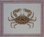 JR-17 Crab 11 x 9 13 Mesh JACKIE RICHEY DESIGNS Danji Designs