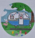 "ZIA-02 Easter Campervan Round  4"" Round 18 Mesh ZIA DESIGNS Danji Designs"