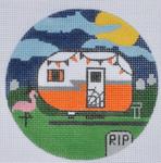 """ZIA-03 Halloween Campervan 4"""" Round 18 Mesh ZIA DESIGNS Danji Designs"""