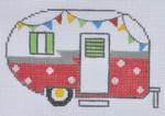 ZIA-06 Red Campervan 4 3⁄4x 3 1⁄4 18 Mesh ZIA DESIGNS Danji Designs