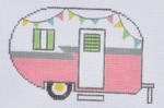 ZIA-09 Pink Campervan 4 3⁄4x 3 1⁄4 18 Mesh ZIA DESIGNS Danji Designs