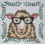 ZIA-56 Sheep  8x8 18 Mesh ZIA DESIGNS Danji Designs