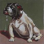 187 English Bulldog  5x5 18 Mesh Map Designs