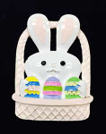 Bunny Basket Big Buddy Needle Minder The Meredith Collection ( Formerly Elizabeth Turner Collection)