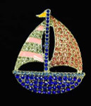 Boat Needle Minder The Meredith Collection ( Formerly Elizabeth Turner Collection)
