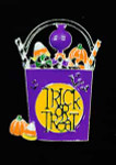 Treat Or Treat Candy Bag Big Buddy Needle Minder The Meredith Collection ( Formerly Elizabeth Turner Collection)