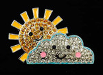 Sun and Cloud Big Buddy Needle Minder The Meredith Collection ( Formerly Elizabeth Turner Collection)