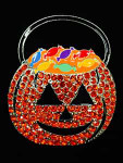 Treat Or Treat Candy Bag Pumpkin Big Buddy Needle Minder The Meredith Collection ( Formerly Elizabeth Turner Collection)