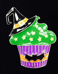 Halloween Cupcake Big Buddy Needle Minder The Meredith Collection ( Formerly Elizabeth Turner Collection)