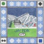 S109 Jay Peak ‐ Square 8.75 x 8.75 13 Mesh Doolittle Stitchery