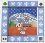 S103 Okemo ‐ Square 8.75 x 8.75 13 Mesh Doolittle Stitchery