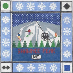 S110 Shawnee Peak ‐ Square 8.75 x 8.75 13 Mesh Doolittle Stitchery