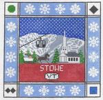 S106 Stowe ‐ Square 8.75 x 8.75 13 Mesh Doolittle Stitchery