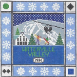S116 Waterville Valley ‐ Square 8.75 x 8.75 13 Mesh Doolittle Stitchery