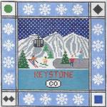 S112 Keystone ‐ Square 8.75 x 8.75 13 Mesh Doolittle Stitchery