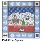 S121 Park City ‐ Square 8.75 x 8.75 13 Mesh Doolittle Stitchery