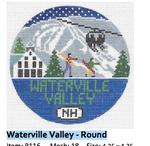 R116 Waterville Valley ‐ Round 4.25 x 4.25 18 Mesh Doolittle Stitchery