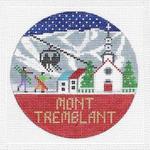 R117 Mont Tremblant ‐ Round 4.25 x 4.25 18 Mesh Doolittle Stitchery