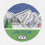 R109 Jay Peak ‐ Round 4.25 x 4.25 18 Mesh Doolittle Stitchery