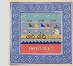 Nantucket‐ Square 8.75 x 8.75 13 Mesh Doolittle Stitchery