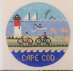 Cape Cod ‐ Round 4.25 x 4.25 18 Mesh Doolittle Stitchery