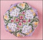 JN294 Tiny Bunny Biscornu • GIE Just Nan Designs