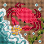 6-007 Crab 9x9 Sandra Gilmore 6 Mesh Little Moon Qulckpoint Kit
