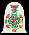 DS02 Oriental Jar 11 x 9.5,13g  DOORSTOP Trubey Designs