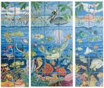 FIS003C1 Center panel no border 31 x 24,13g FIRESCREEN Trubey Designs