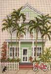 "831 Island House (Key West, FL) 18 Mesh - 5"" x 7"" Needle Crossings"
