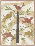 "MS040 Birds Of A Feather 14g, 12.5"" x 16.5"" Machelle Somerville"