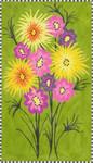 "MS053 Flowers For Jessi 18g, 8.25"" x 14.25"" Machelle Somerville"