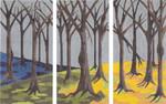 "MS058C The Woods (Right) 14g, 6"" x 12""Machelle Somerville"