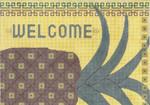 """MS069 Welcome 14g, 15"""" x 10.5"""" Machelle Somerville"""