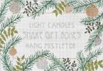 """MS070 Light Candles 18g, 16"""" x 11"""" Machelle Somerville"""
