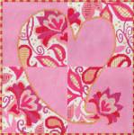 MS083 Floral Romance 18g 8.25 x 8.25 Machelle Somerville