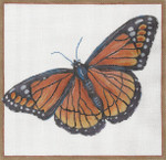 "GS-024 Viceroy Butterfly 8"" x 8.25"" Sharon G"