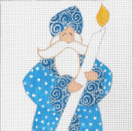 """CB-221 The Blue Candle $anta Square 18g, 5.25"""" x 5.25""""CURTIS BOEHRINGER"""