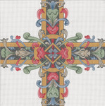 "307-A Medieval Cross #2  18g, 13"" x 13"" Creative Needle"