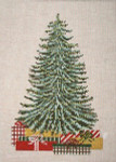 "2890 Oh, Christmas Tree 13 Mesh - 8-1/2"" x 12"" Needle Crossings"