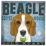 TC-SF-106 12x12 18ct Beagle Tango & Chocolate Etc.