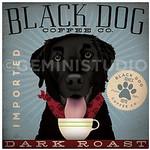 TC-SF-102 12x12 18ct Black Dog Tango & Chocolate Etc.
