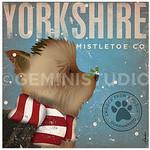 TC-SF-205 12x12 18ct Yorkshire Mistletoe Tango & Chocolate Etc.