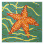 Claire Lloyd Designs CL3623 - Orange Starfish / Large