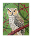 Claire Lloyd Designs CL3640 - Great Horned Owl