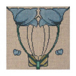 Elements Designs DH3608 - Blue Tulips